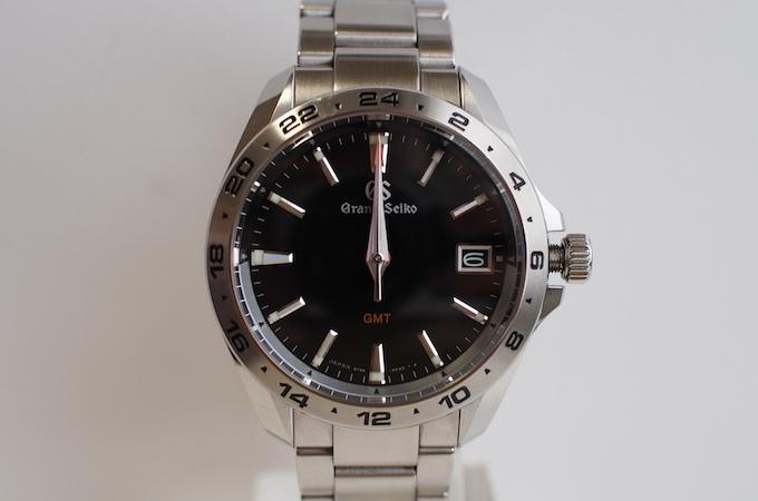 GMT針、秒針、分針、時針